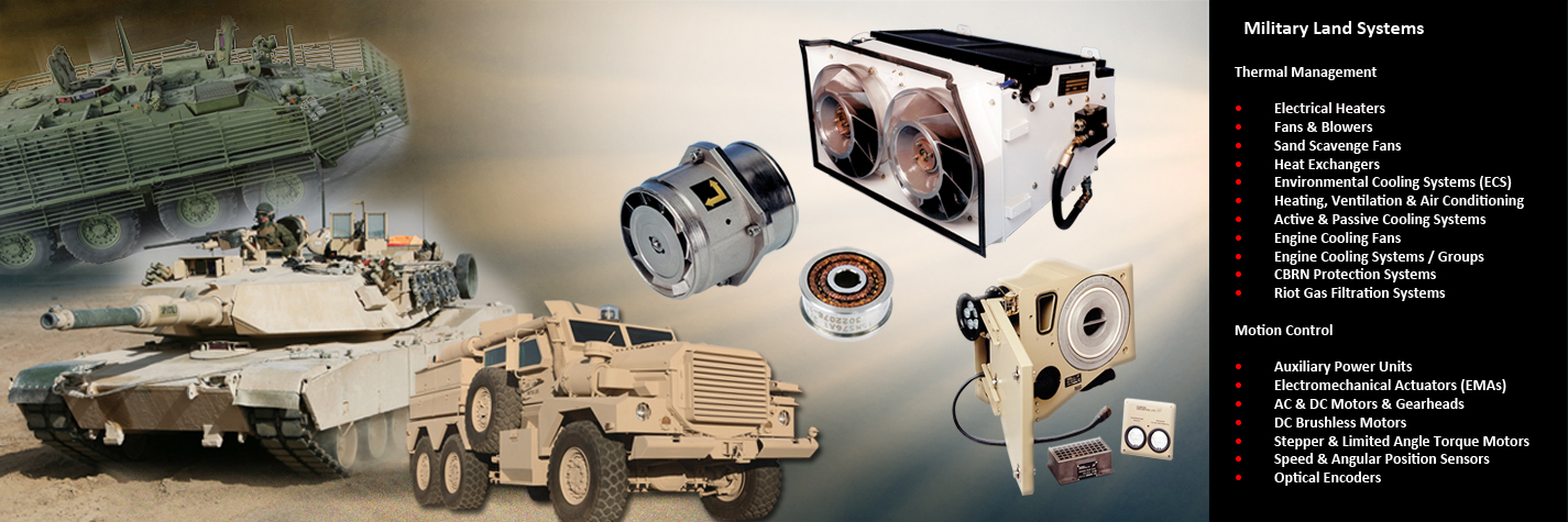 AMETEK Airtechnology Group - Military Land Systems